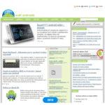 Svet Androida web - 2010