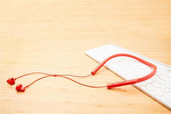 Xiaomi Necklace Youth: Levná bluetooth sluchátka - oranžové