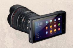 Yongnuo YN450: Bezzrcadlovka s Androidem s vyměnitelnými objektivy, 4G a GPS
