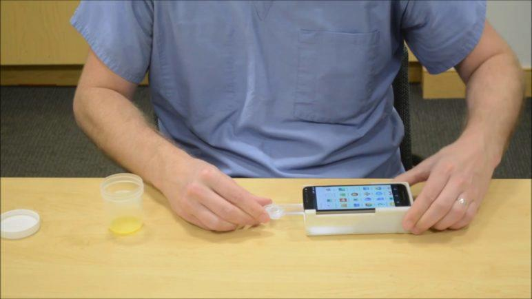 A smartphone-based test for male fertility