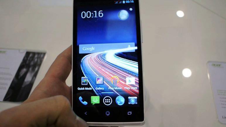 Acer Liquiad Z5 (První pohled)