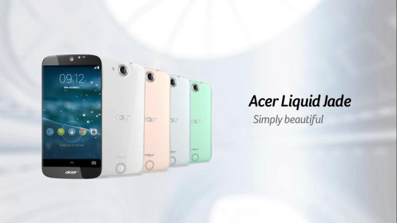 Acer Liquid Jade Smartphone - Simply beautiful (Features & Highlights)