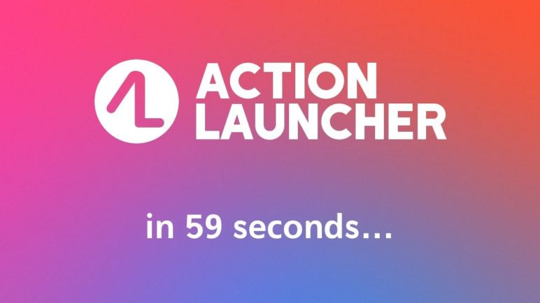 Action Launcher in 59 seconds