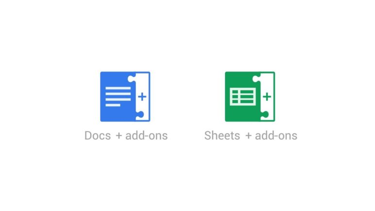 Add-ons for Google Docs & Sheets