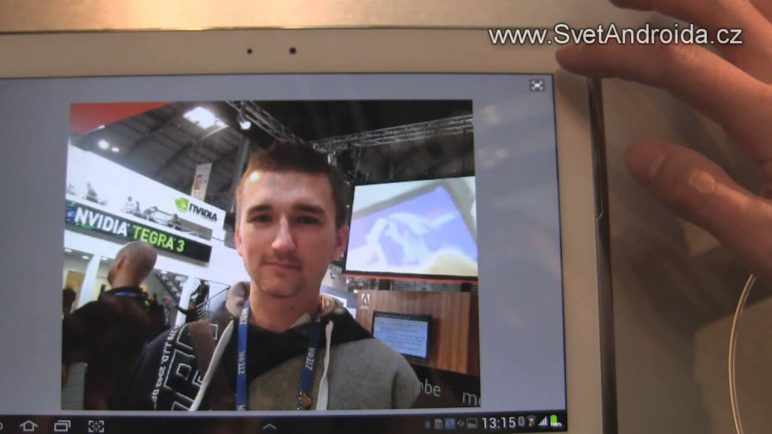 Adobe PS Touch na MWC 2012