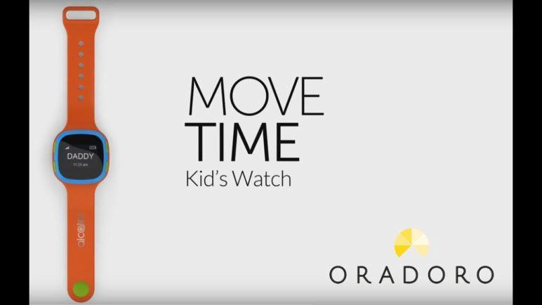 Alcatel Move Time Kids Watch Care Time