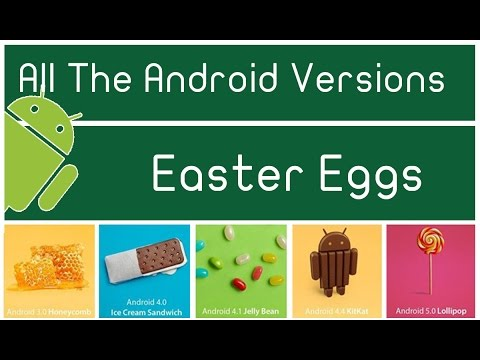 All The Android Easter Eggs Hidden Minigames Lollipop, KitKat, Jellybean, ICS, Gingerbread