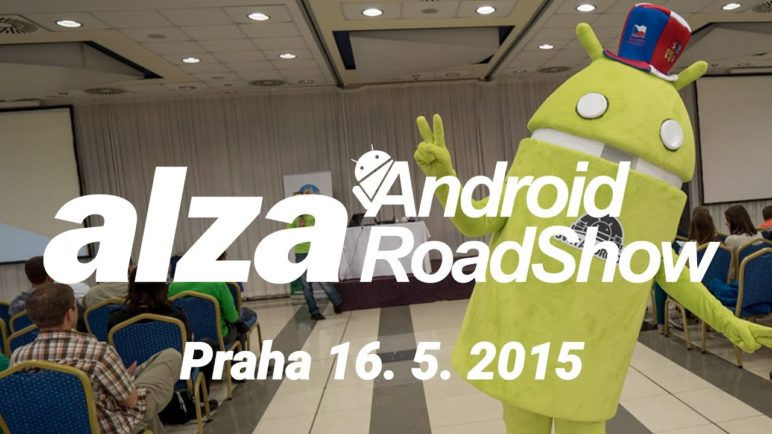 Alza Android RoadShow 2015 videoreport