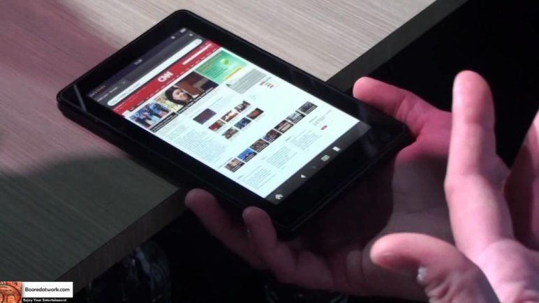 Amazon Silk browser for the Kindle Fire Hands-on