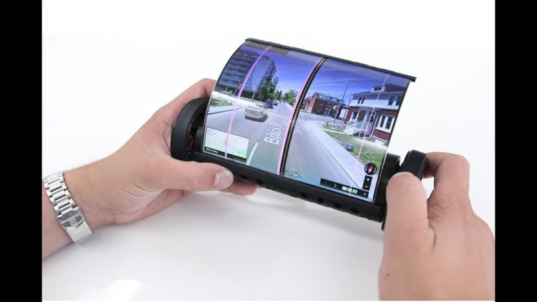 An iPad That Fits Your Pocket: Introducing a Roll-up Tablet With Flexible Screen Real Estate