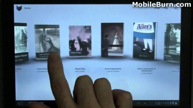 Android 3.0 Honeycomb walk-through on a Motorola XOOM - part 1 of 2