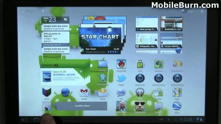 Android 3.0 Honeycomb walk-through on a Motorola XOOM - part 2 of 2