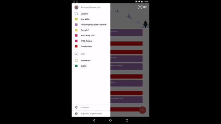 Android 5.0 Lollipop: Automatické přidávání událostí do kalendáře
