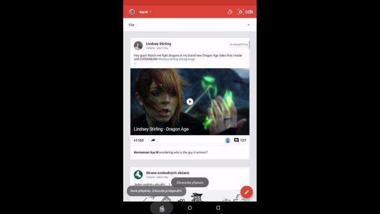 Android 5.0 Lollipop: Připínání aplikací