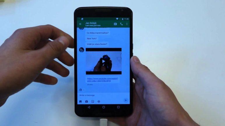 Android 6.0 Marshmallow - první pohled