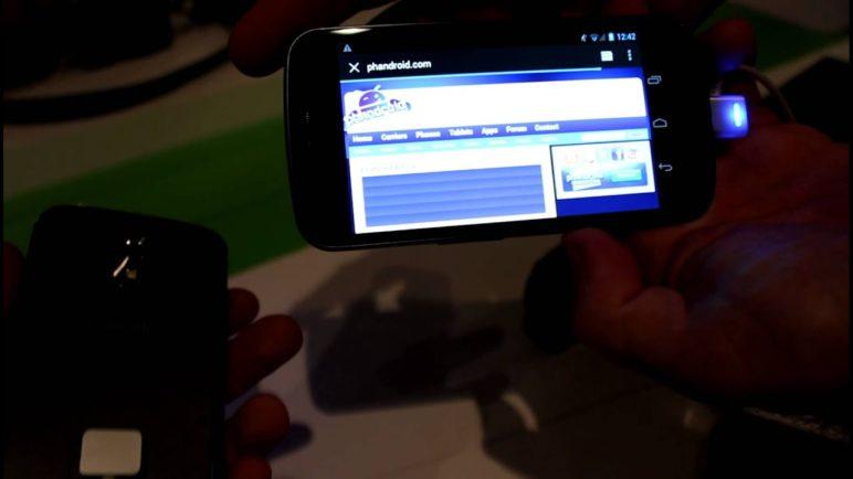 Android Beam on the Galaxy Nexus - Phandroid.com