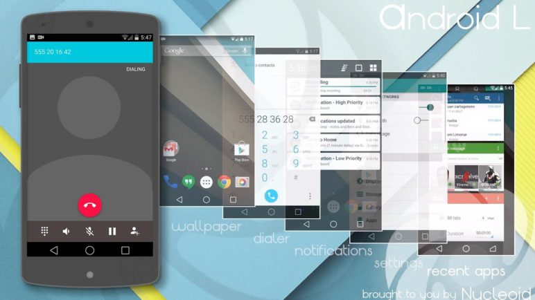 Android L [CM11 Theme] by Nucleoid