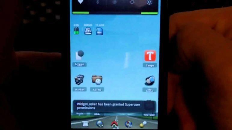 Android LCD Density Nexus S Gingerbread Root Only