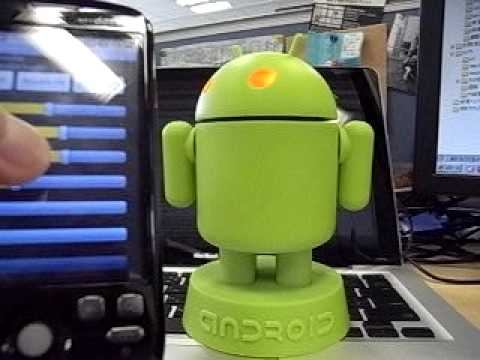 Android-Robo Controlled by Android Mobile Phone