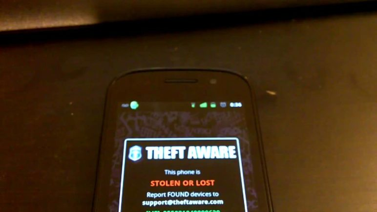 Android Theft Aware APP - Awesome app - Free until the 19th of January.