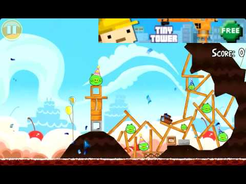 Angry Birds Birthday update quick look