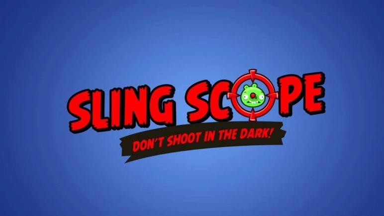Angry Birds Facebook Power-up: Sling Scope