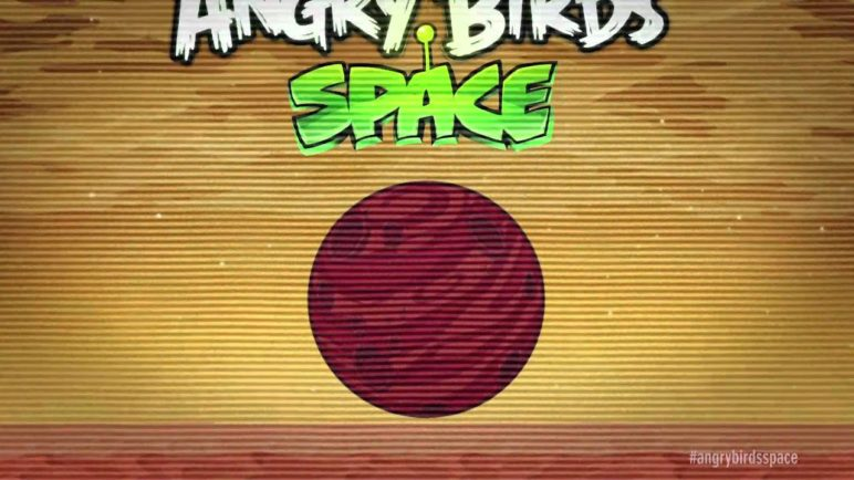 Angry Birds Space: Red Planet update coming soon!