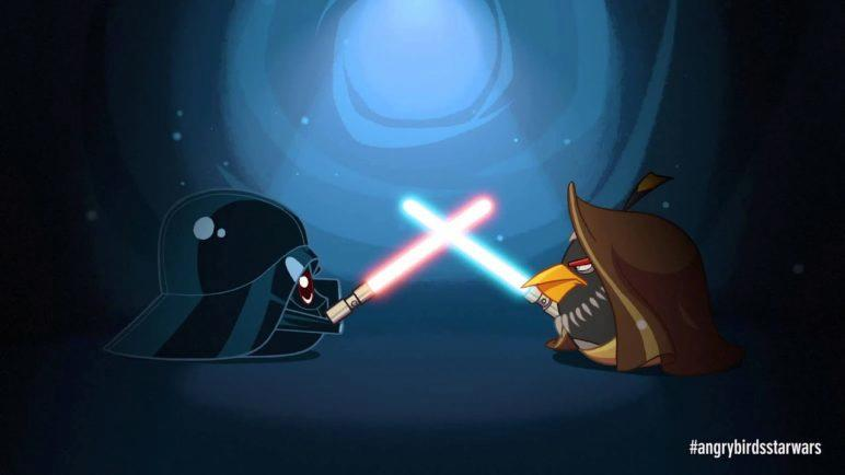 Angry Birds Star Wars: Obi Wan & Darth Vader - exclusive gameplay