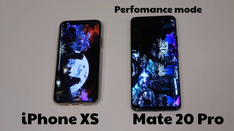 AnTuTu Benchmark: Apple iPhone XS vs Huawei Mate 20 Pro