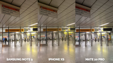 apple iphone xs vs huawei mate 20 pro vs samsung galaxy note 9 metro fotografie