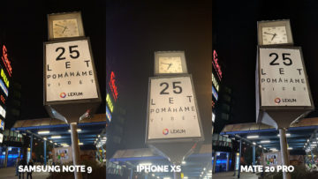 apple iphone xs vs huawei mate 20 pro vs samsung galaxy note 9 nocni fotografie