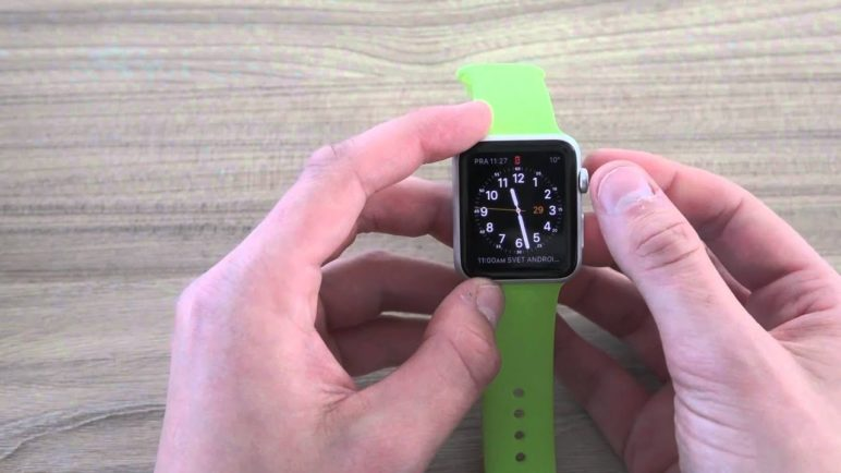 Apple Watch - první pohled