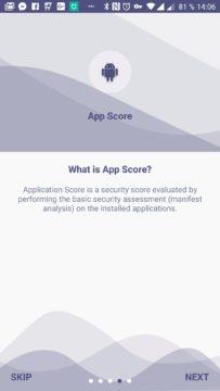 Application Score (Skóre aplikací)
