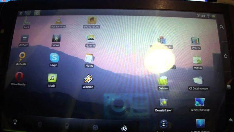 Archos 101 Internet Tablet  - Hands On - Review