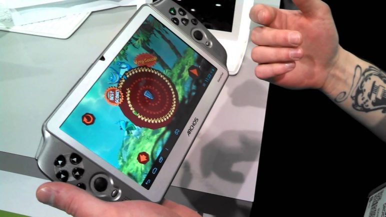 Archos Gamepad Hands-on CES 2013