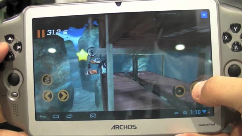 Archos GamePad hands on.mov