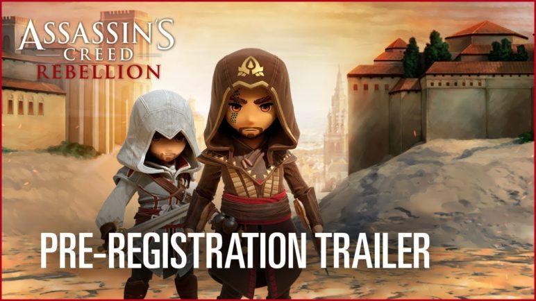 Assassin's Creed Rebellion: Pre-Registration Trailer   Ubisoft [NA]