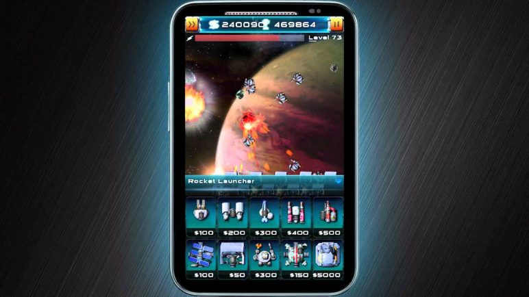 Asteroid Defense 2 - Android Game