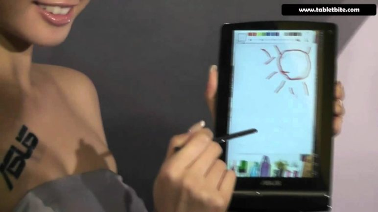 Asus EEE Pad Memo 3D - drawing demonstration