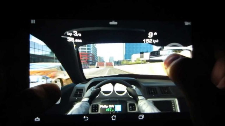 Asus MeMo Pad HD 7 - Real Racing 3