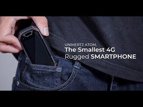 Atom, World`s Smallest 4G Rugged Smartphone