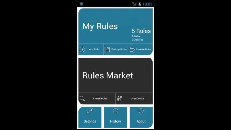 AutomateIt Add Rule Wizard Demo