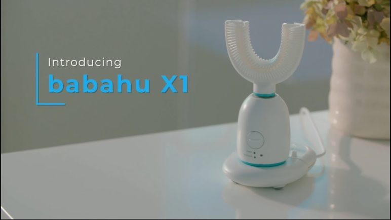 babahu® X1 - World's First AI Hand Free Toothbrush