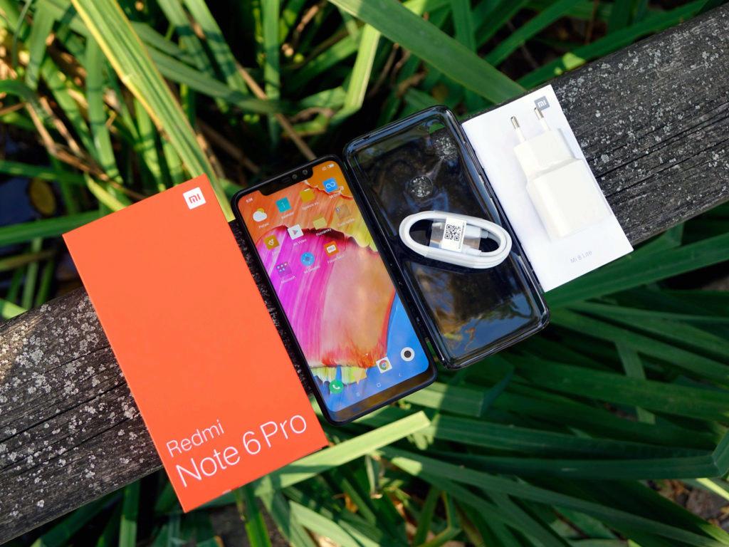 Balení Xiaomi Redmi Note 6 Pro