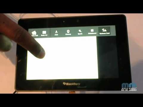 BlackBerry PlayBook @ Mobile World Congress 2011