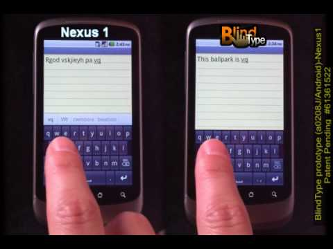 BlindType on Android