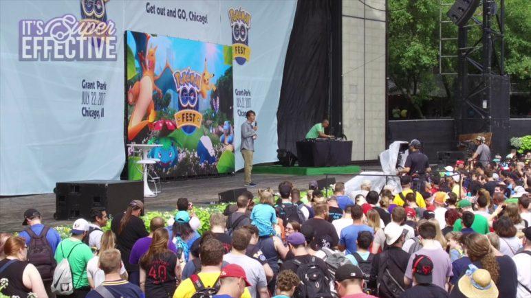 Booing Niantic CEO at Pokémon GO Fest