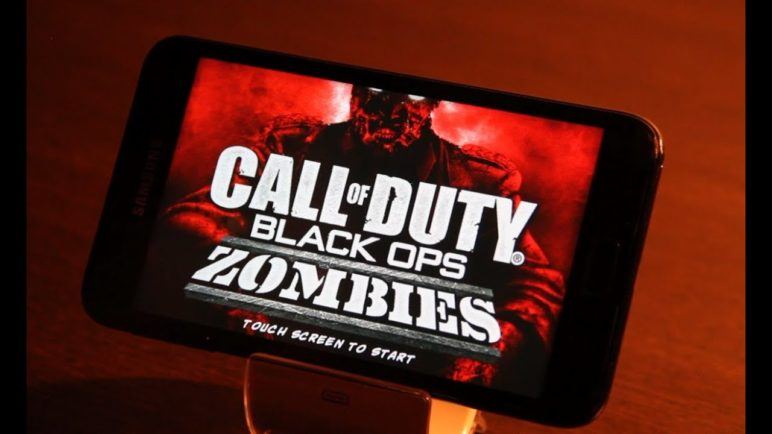 CALL OF DUTY Black Ops Zombies Android Gameplay Samsung Galaxy Note | ITF