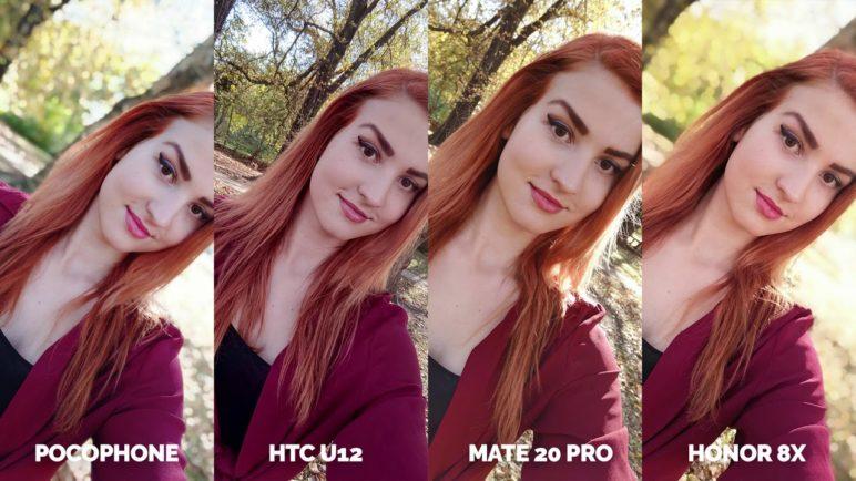 Camera test Pocophone F1 vsHTC U12+ vs Huawei Mate 20 Pro vs Honor 8X