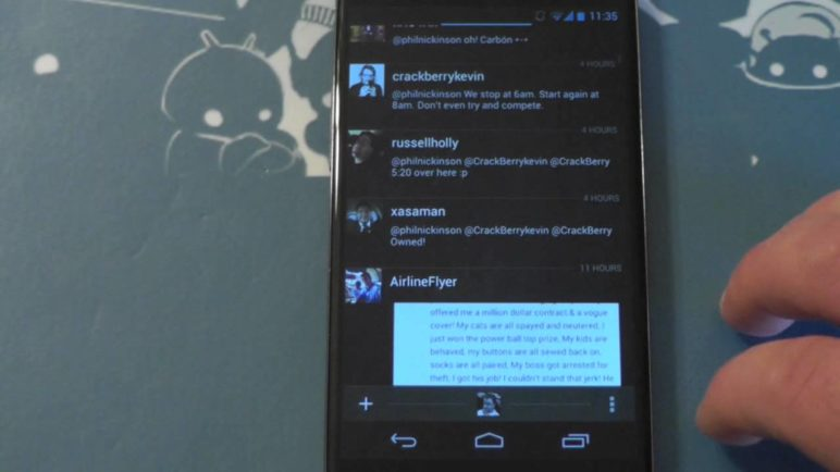 Carbon for Android Twitter app - A preview